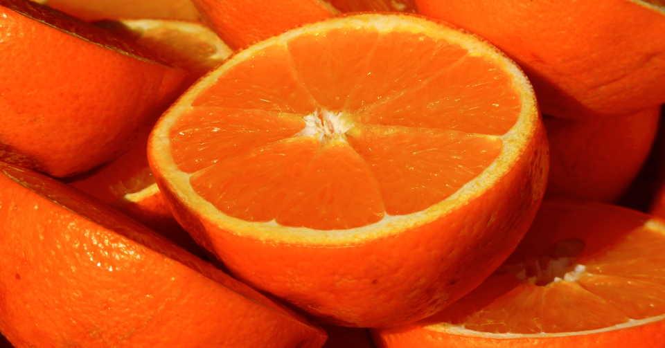 たくさんのオレンジ