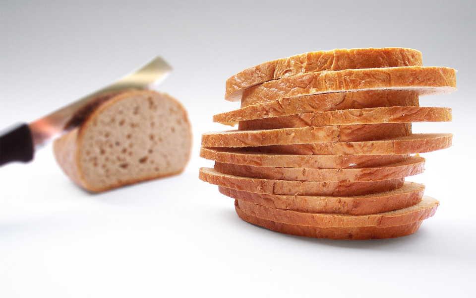 スライスされたパン