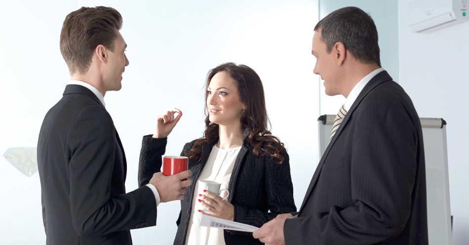 3人によるビジネス英会話
